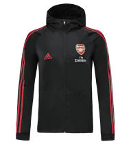 2019/20 Arsenal Black Windbreaker