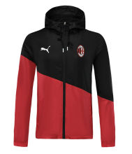 2019/20 AC Milan Red And Black Windbreaker