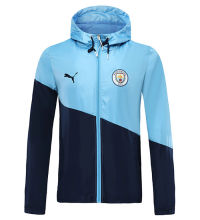 2019/20 Man City Royal Blue windbreaker