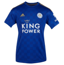 2019/20 Leicester City Home Blue Fans Soccer Jersey