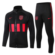2019/20 Atletico Madrid Black Sweater Tracksuit