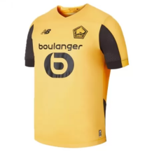 2019/20 Lille  Away Yellow Fans Soccer Jersey