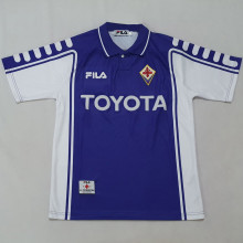 1999-00 Florence Home Retro Soccer Jersey