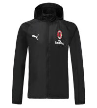 2019/20 AC Milan Black windbreaker