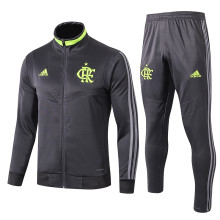 2019/20 Flamengo Black Jacket Tracksuit Full Sets