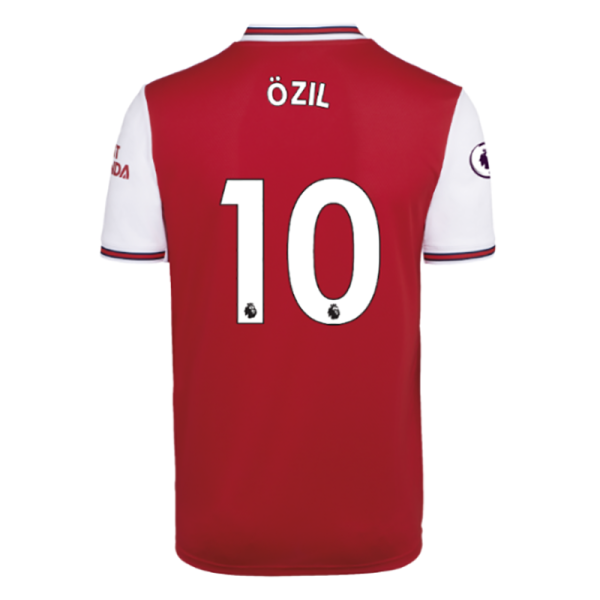 OZIL #10 Arsenal Home Red Fans Soccer Jersey 19/20