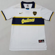 1996-1997 Boca Away Retro Soccer Jersey