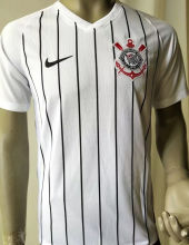 2019/20 Corinthians Home White Player Version Soccer Jersey