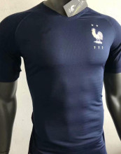 2019 2 Star Champion Player Version France Home Soccer Jersey