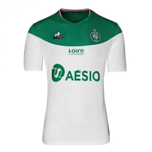 2019/20 St Etienne Away White And Green Fans Soccer Jersey