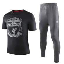 2019/20 Liverpool Black Adult Suit Tracksuit