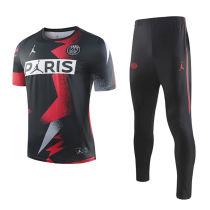 2019/20 PSG Paris Jordan Red And Black Tracksuit