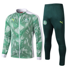 2019/20 Palmeiras White And Green Jacket Tracksuit Full Sets