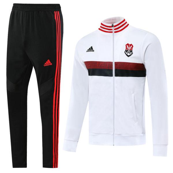2019/20 Flamengo White Jacket Tracksuit Full Sets