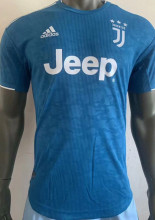 2019/20 JUV Away Blue Player Soccer Jersey
