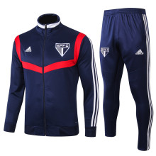 2019/20 Sao Paulo Blue Jacket Tracksuit Full Sets