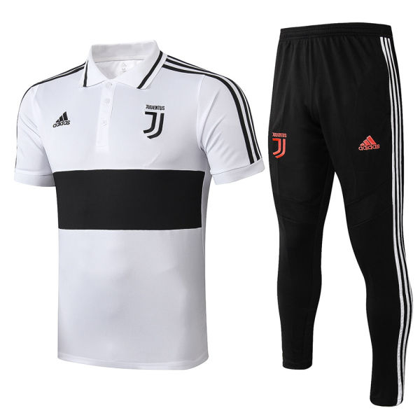 2019/20 JUV White Polo Tracksuit
