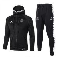 2019/20 PSG Paris Jordan Black Hoodie Jacket Tracksuit