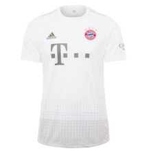 2019/20 Bayern 1:1 Quality Away White Fans Soccer Jersey