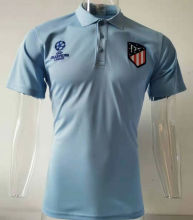 2019/20 AT Madrid UCL Wathet Polo Short Jersey