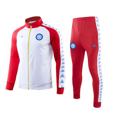 2019/20 Napoli White And Red Jacket Tracksuit
