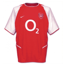2002-2003 Arsenal Home Retro Soccer Jersey