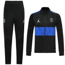 2019/20 PSG Paris Black High collar Jacket Tracksuit
