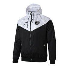 2019/20 PSG Paris Black And White Windbreaker