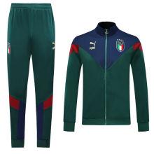 2019/20 Euro Italy Green Jacket Tracksuit