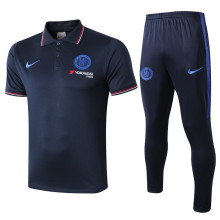 2019/20 Chelsea Royal Blue Polo Tracksuit