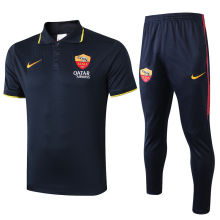 2019/20  AS Roma Royal Blue Polo Tracksuit