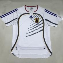2006 Japan Away Retro Soccer Jersey