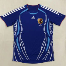2006 Japan Home Retro Soccer Jersey