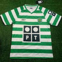 2003-2004 Lisbon Home Retro Soccer Jersey