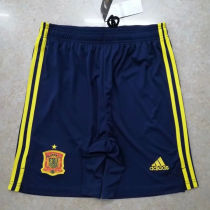 2020 Euro Spain Home Shorts Pants