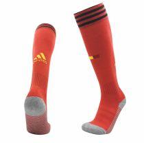 2020 Euro Belgium Home Soccer Sock