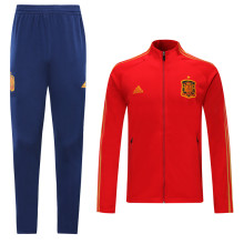2019/20 Euro Spain Red Jacket Tracksuit