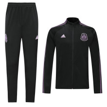 2019/20 Mexico Purple Black Jacket Tracksuit