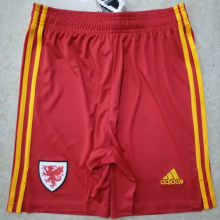 2020 Euro Wales Home Shorts Pants