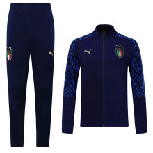 2019/20 Euro Italy Blue Jacket Tracksuit