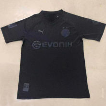 2020 BVB 110th Black Fans Soccer Jersey