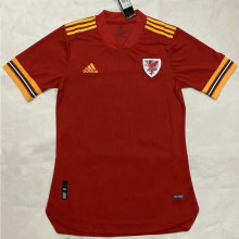 2020 Euro Wales Home Player Soccer Jersey