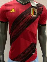 2020 Euro Belgium Home Player Version Soccer Jersey
