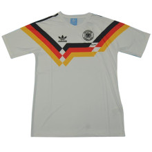 1990 Germany Home White Retro Soccer Jersey