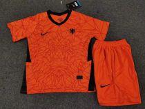 2020 Euro Netherlands Home Kids Soccer Jersey