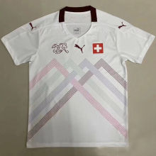 2020 Euro Switzerland Player Version Soccer Jersey