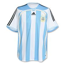 2006 Argentina Home Retro Retro Soccer Jersey