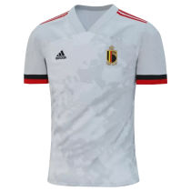 2020 Euro Belgium 1:1 Quality Away Fans Soccer Jersey