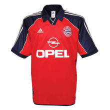2000-2001 BFC Home Retro Soccer Jersey