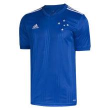 2020/21 Cruzeiro Home 1:1 Quality Blue Fans Soccer Jersey